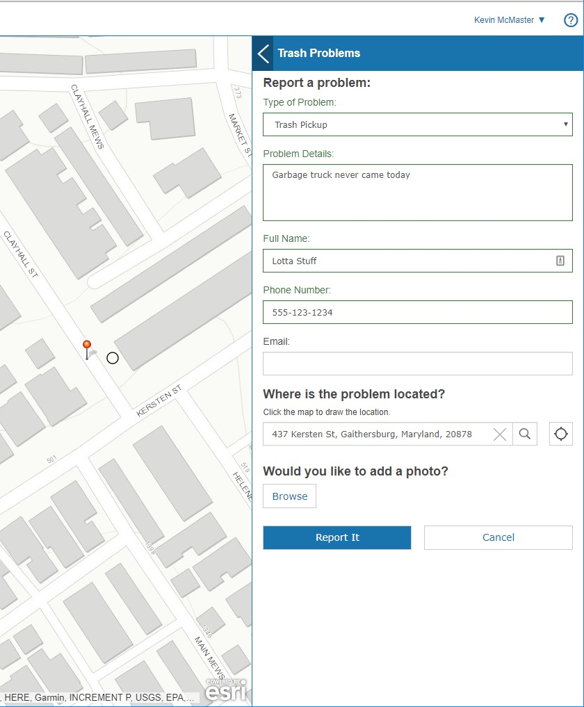 citizen reporter application
