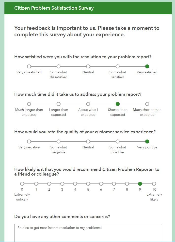 reporter survey